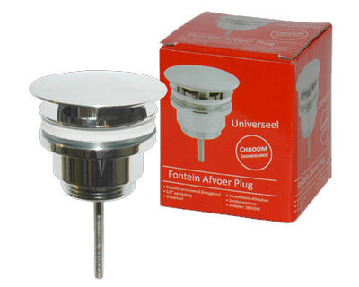 Fontein Afvoer Plug All-Ways-Open