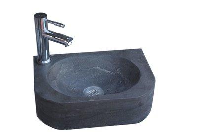 Natuursteen fontein Slim L/R