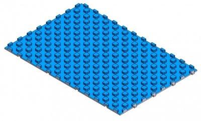 Vloerverwarmings noppenplaat  1200 x 765 mm x 35 mm